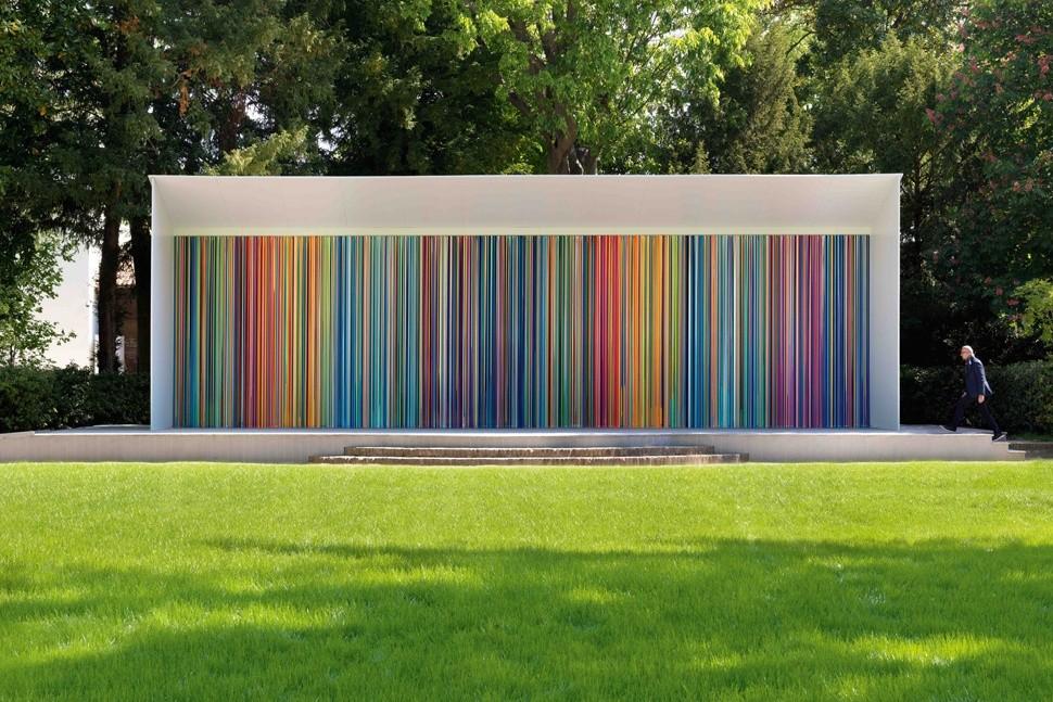Ian Davenport - Giardini Colourfall