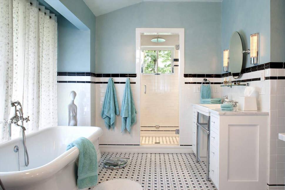 Eklektik Tarzı Banyo Tasarımı