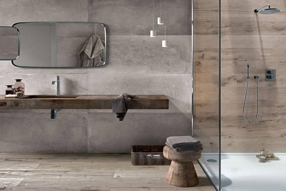 Endüstriyel Tarz Banyo Tasarımı