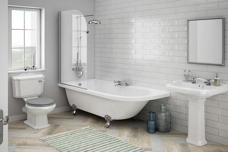 Klasik Tarz Banyo Tasarımı