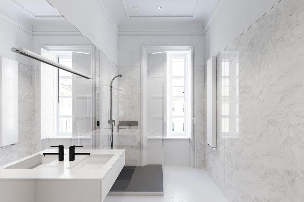 Minimal Tarz Banyo Tasarımı