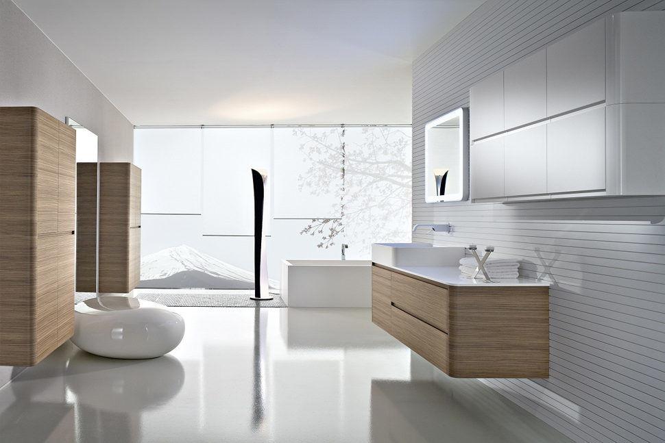 Modern Tarz Banyo Tasarımı