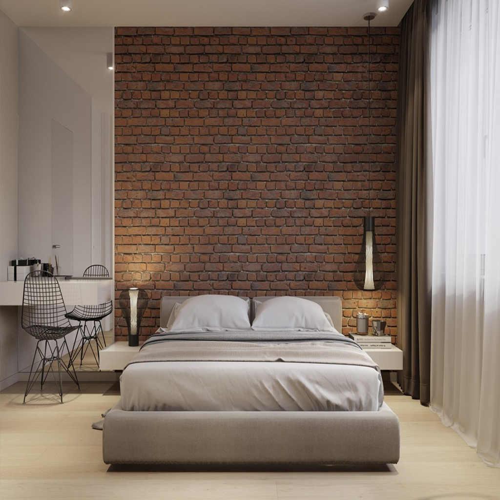 Loft Tarzı Yatak Odası Tasarımları