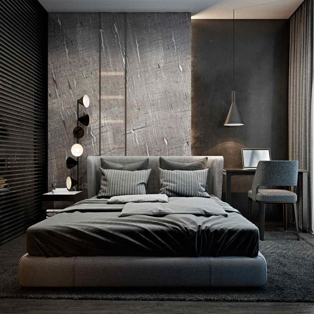 Değişik Yatak Odası Tasarımları
