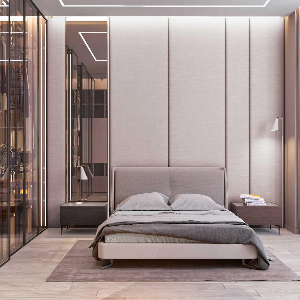 Modern Yatak Odası Aydınlatma Elemanları