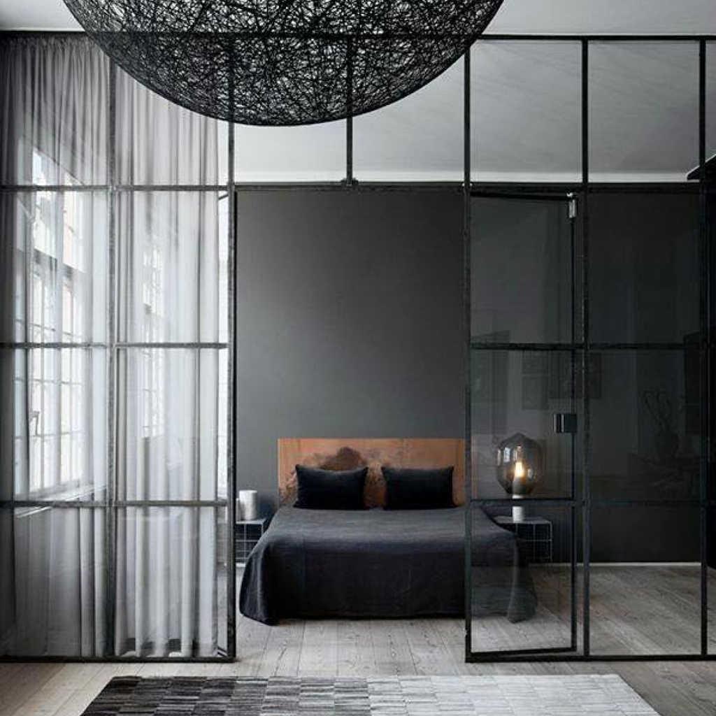 Modern Yatak Odası Paravan Tasarımları