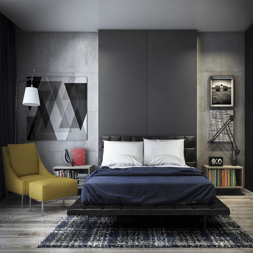 Modern Yatak Odası Tasarımında Renkli Aksanlar