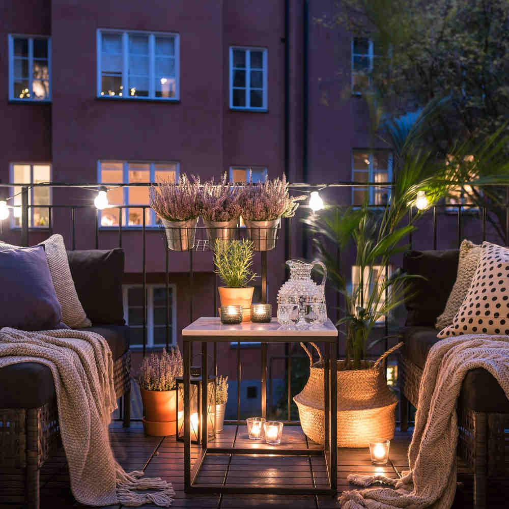 Rahat balkon tasarımı