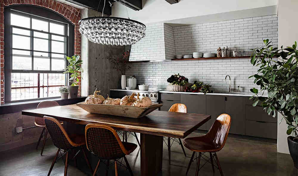Vintage Mutfak Tasarımı