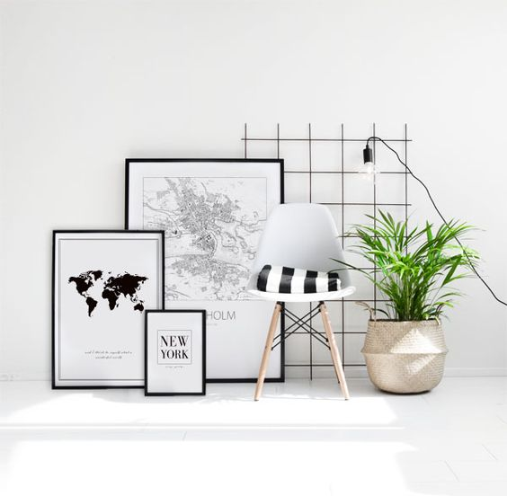 iskandinav tarzı tasarım