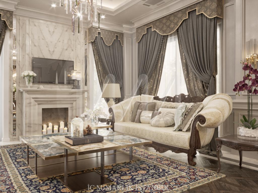 İç Mimarlık İstanbul Villa Projesi