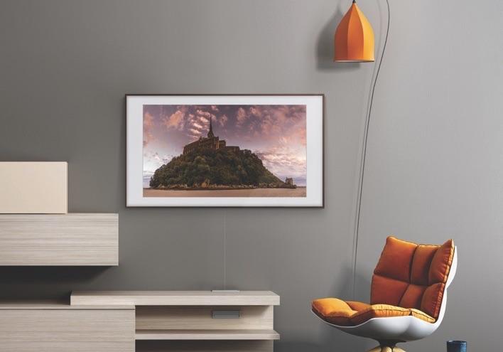tablo şeklinde televizyon